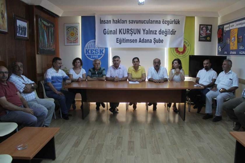 Adana'dan insan hakları savunucuları için açıklama