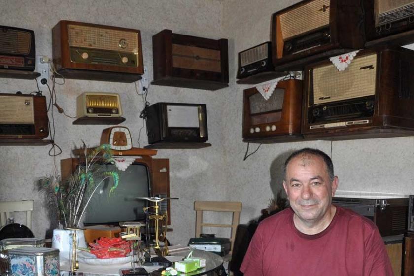 Antika radyo ve gramofon evi