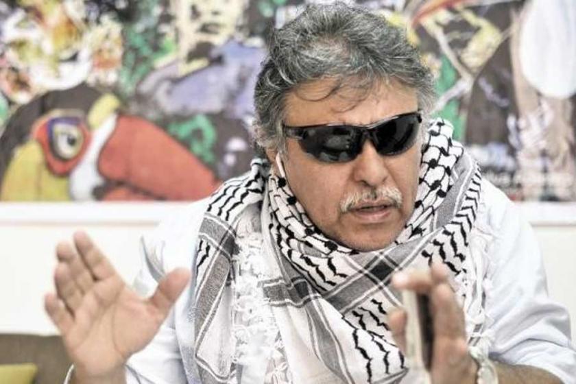 Açlık grevindeki FARC lideri hastaneye kaldırıldı