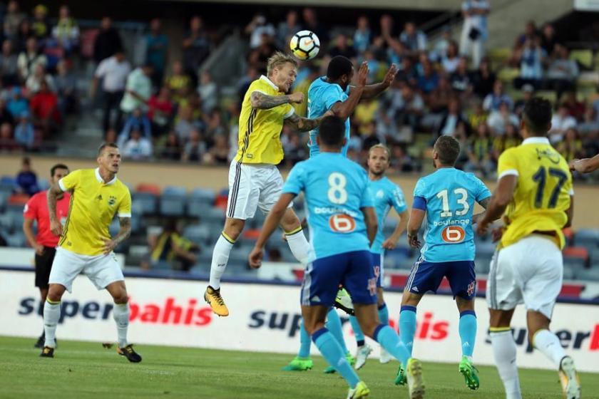 Fenerbahçe, Marsilya'ya tek golle yenildi