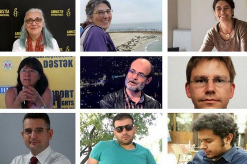 Gözaltındaki hak savunucuları pazartesi Çağlayan'da olacak