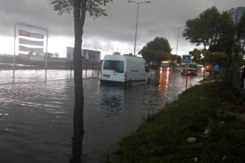 İstanbul yağmuru Meclis gündeminde