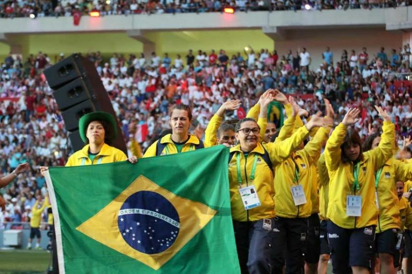 Yaz İşitme Engelliler Olimpiyat Oyunlarının açılışı yapıldı