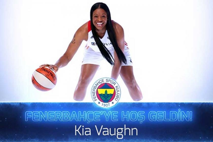 Fenerbahçe'ye ABD'li pivot: Kia Vaughn