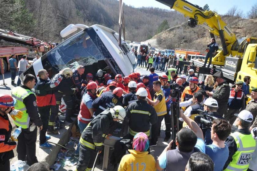 7 kadın işçinin öldüğü kazada otobüs şoförü tutuklandı