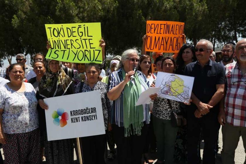 Karabağlar Kent Konseyi: TOKİ değil üniversite istiyoruz
