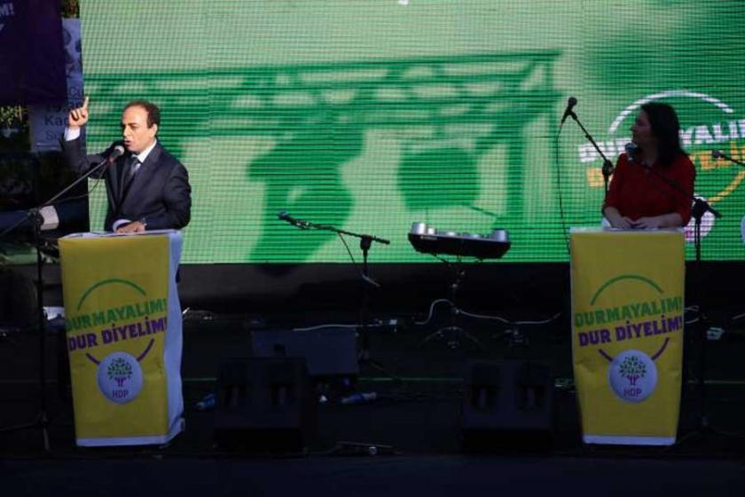 HDP ortak mücadele deklarasyonu yayınladı