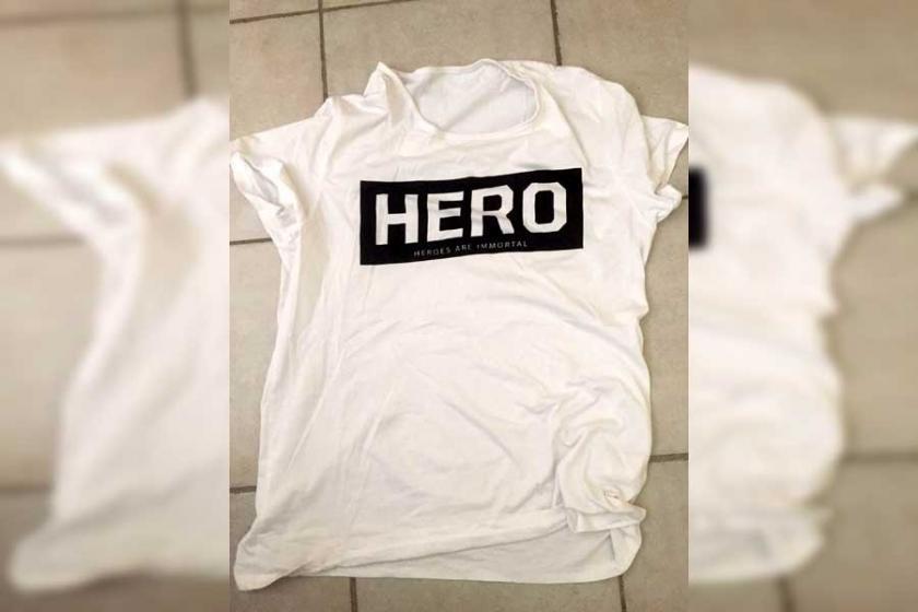Sakarya'da 'Hero' tişörtü giyen iki işçi gözaltına alındı