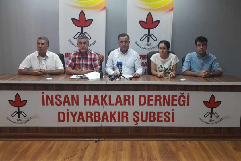İHD: Bölge'de 6 ayda 12 bin 503 hak ihlali yaşandı