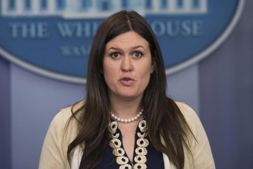 Yeni Beyaz Saray Sözcüsü Sarah Sanders oldu