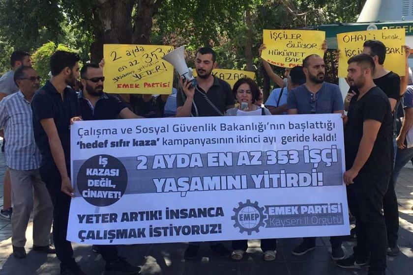 'İş cinayetlerini işçilerin örgütlü mücadelesi durdurabilir'