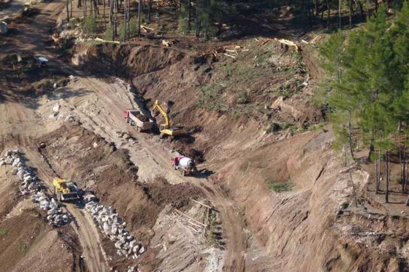 'Alakır'da HES'lerin yapımı hukuksuzca devam ediyor'