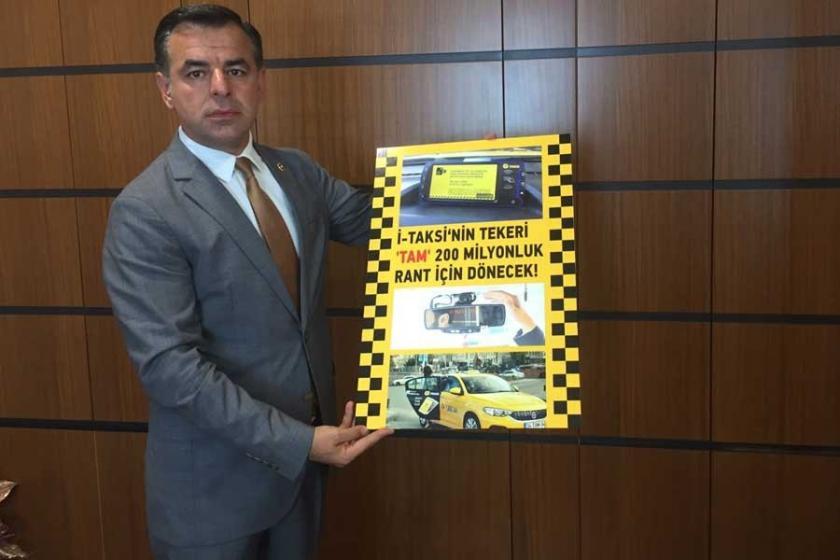 Yarkadaş: iTaksi'nin rantının adresi yine AKP'yi gösteriyor