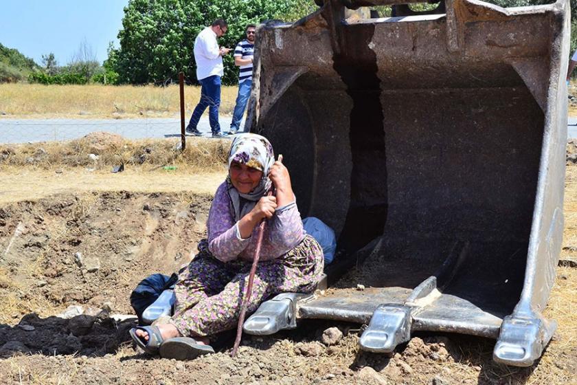 Köylülerden 'Ağaçlar sökülmesin' nöbeti: 4 gözaltı