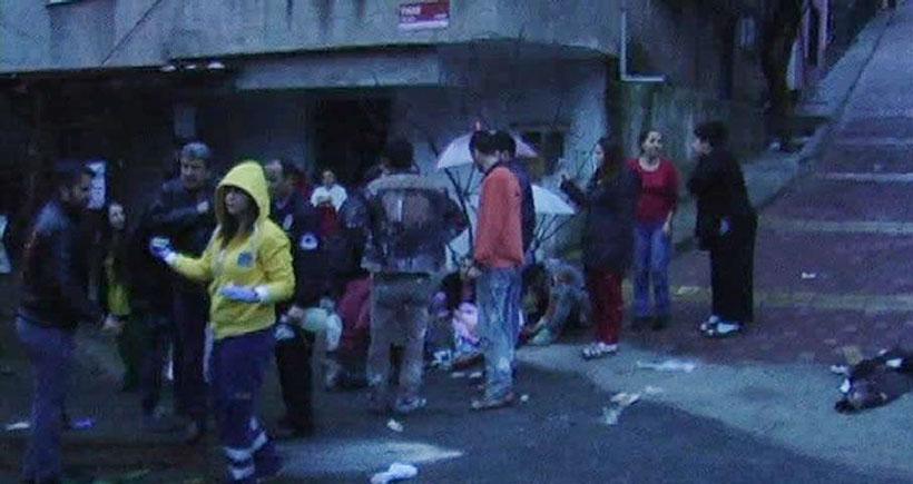 Gülsuyu'da inşaat işçilerine saldırı