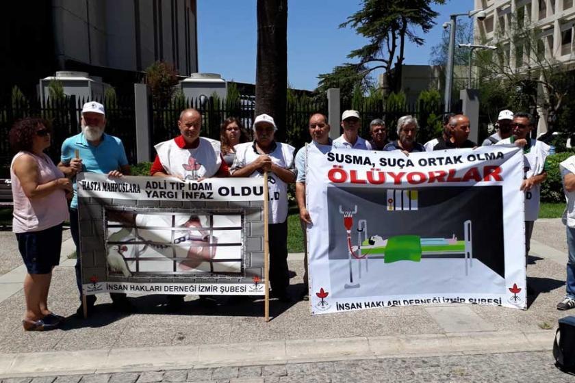 İzmir'de İHD'den hasta tutuklular için çağrı