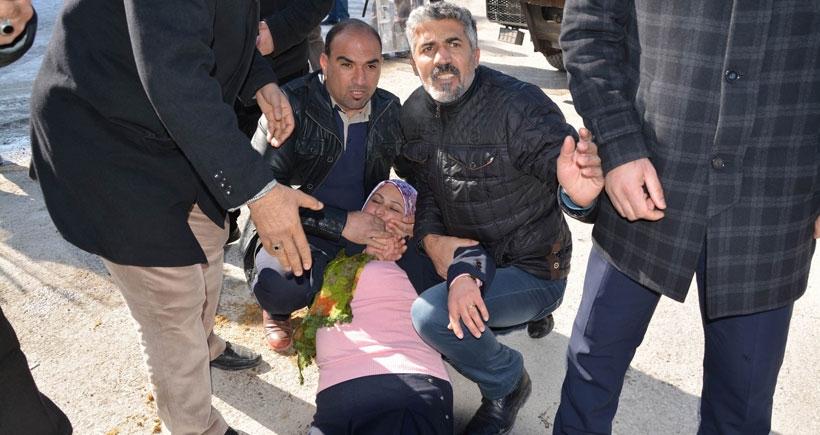 Polisin darp ettiği Belediye Başkanı hastaneye kaldırıldı