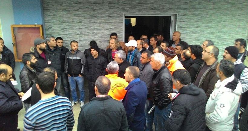 Çiğli İşçi Kurultayı  grev hazırlıklarını yaptı