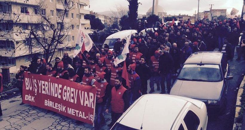 Mudanya'da grev ve sınıf kardeşliği