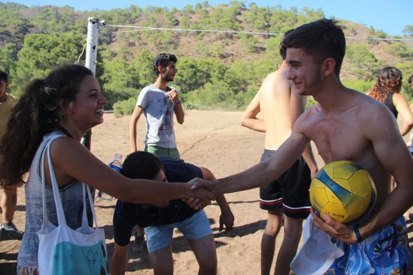 15. Gençlik Yaz Kampı Antalya buluşması sona erdi
