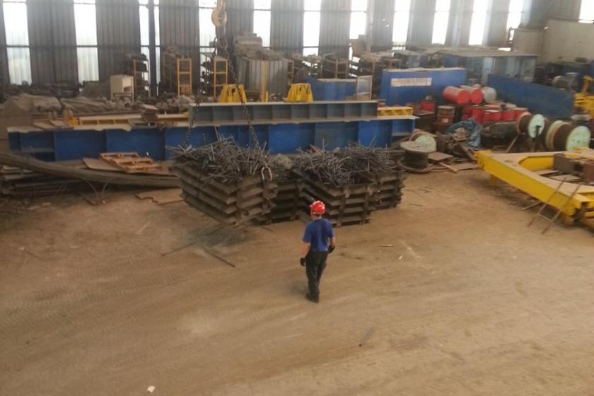 Resmi tatilde demir çelik fabrikaları durdu