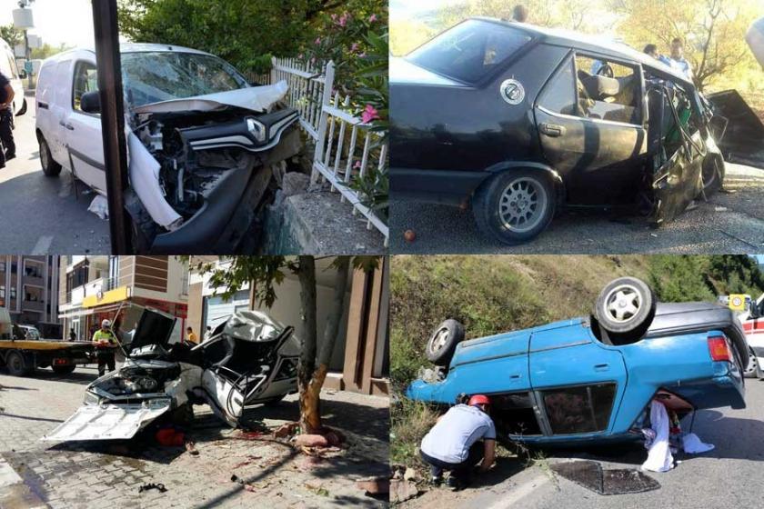 Kurban Bayramı tatilinin ilk 7 günü kaza bilançosu: 70 ölü