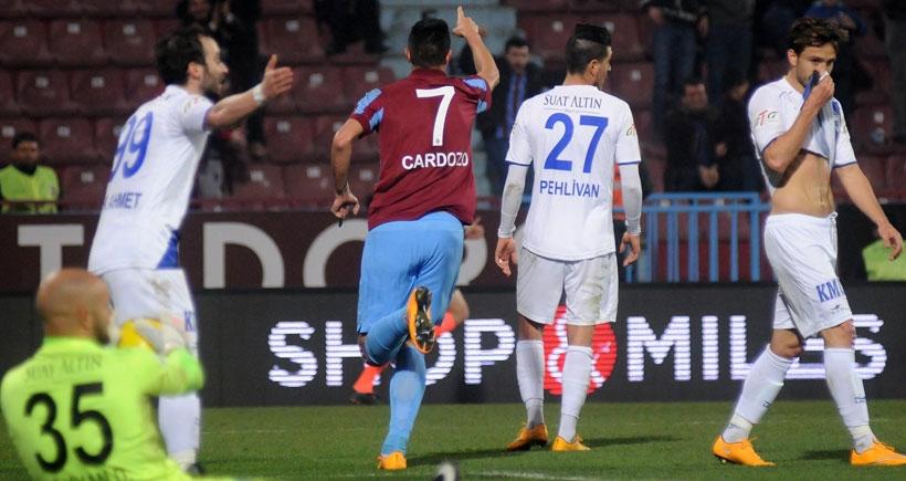 Trabzonspor, Kayseri Erciyespor'u 2 golle geçti