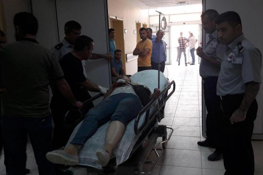 Otomobilin üzerine kaya düştü: 1 ölü 4 yaralı