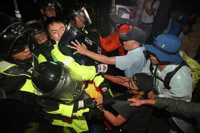ABD'nin Güney Kore'deki THAAD'larıprotesto edildi