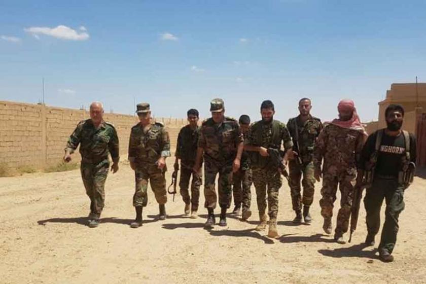 Deyrezzor'da Suriye ordusu ve SDG'nin Elbukemal yarışı