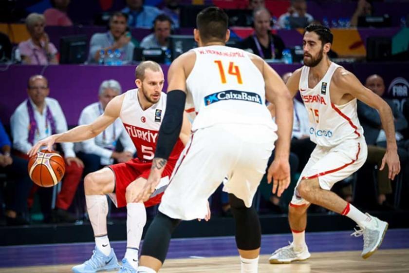 EuroBasket 2017: Türkiye, İspanya'ya mağlup oldu