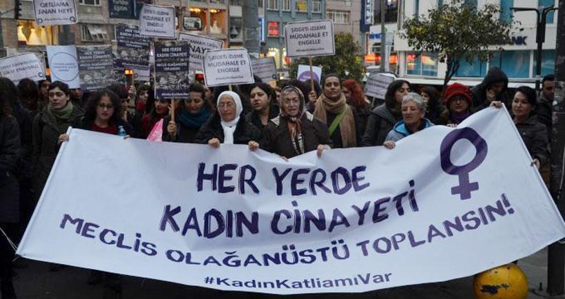 'Kadın cinayetleri her yerde, meclis olağanüstü toplansın'