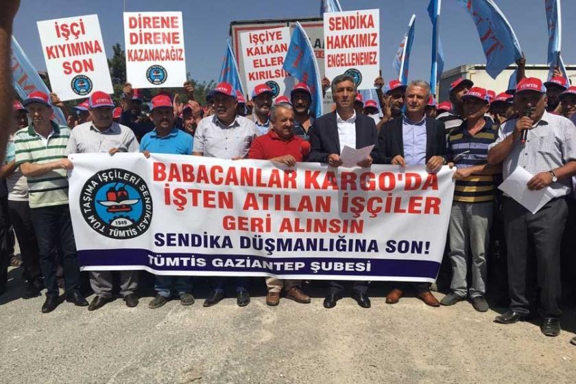 'Atılan işçiler geri alınsın'