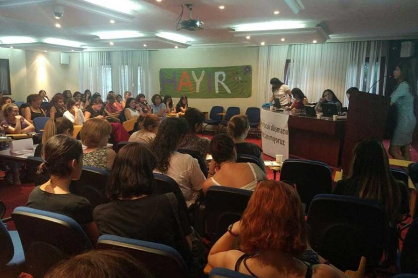 Ankara'da kadınlar müftülüklere nikah yetkisini tartıştı