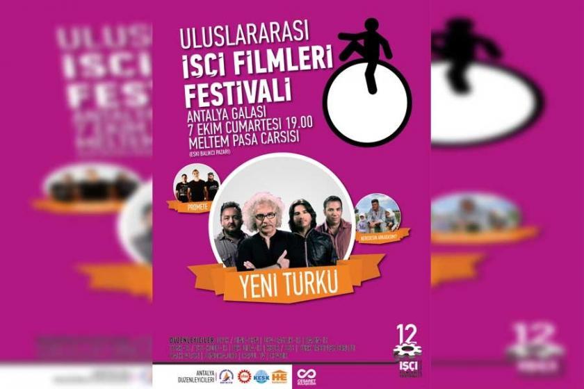 İşçi Filmleri Festivali Antalya ayağı başlıyor