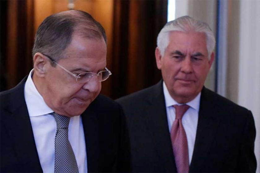 Lavrov ve Tillerson, Suriye'yi görüştü