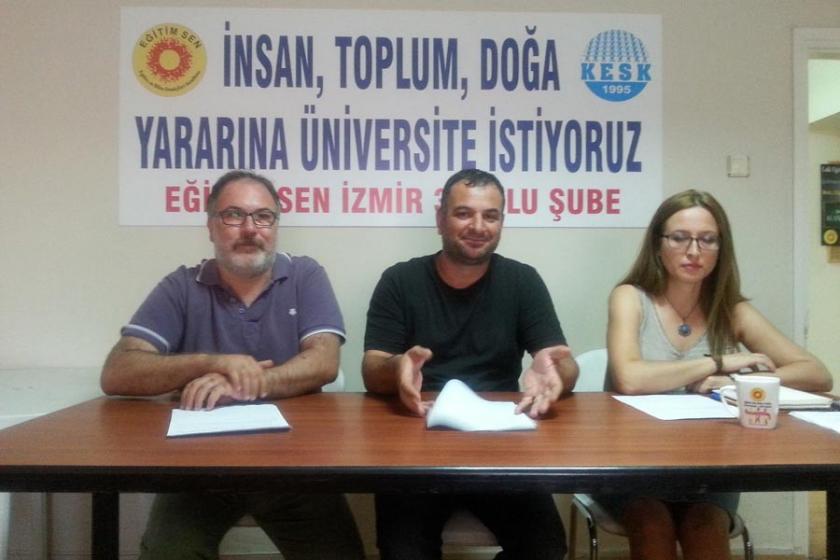 İzmir'deki rektör değişikliklerine ilişkin açıklama yapıldı
