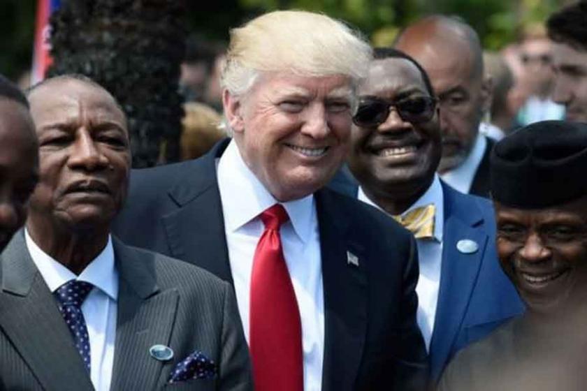 Trump yeni bir ülke keşfetti: Nambiya