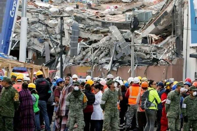 Meksika'da bu kez 6.1'lik deprem: En az 4 ölü