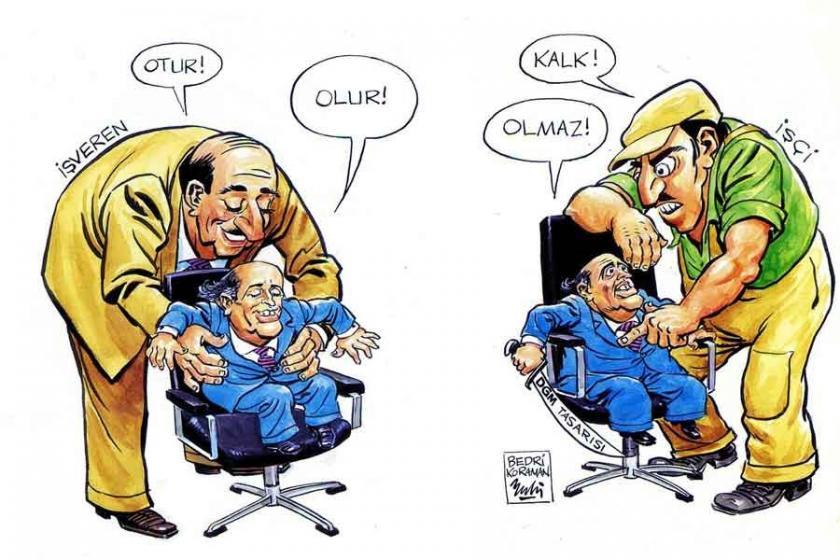 Siyasilerin karikatürleri Kadıköy'de