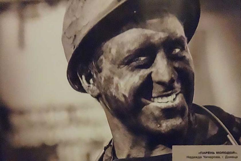 Madencisini onurlandıran topraklarda bir fotoğraf sergisi