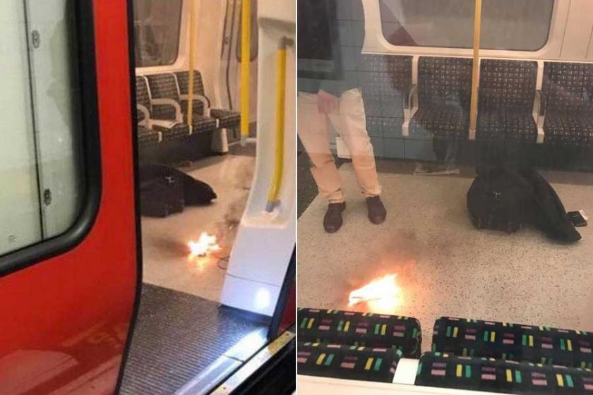 Londra'da metro istasyonu patlama nedeniyle boşaltıldı