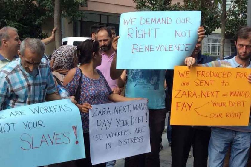Bravo ve BRV işçileri hakkı olan ücretleri istiyor