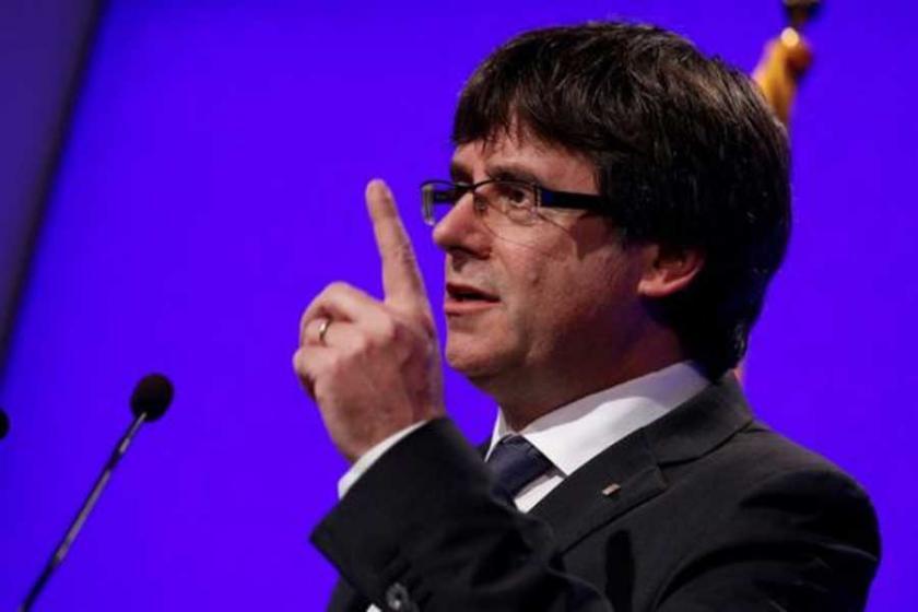 Katalan lider Puigdemont: Haklarımızı savunacağız