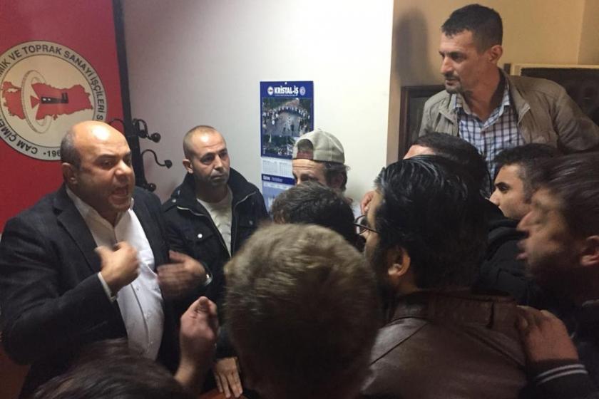 Şişecam'da işten atılan işçiler: Şubeyi terk etmeyeceğiz