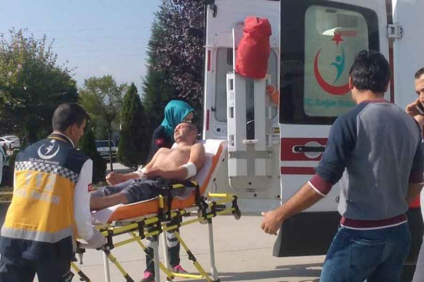 Fabrikada üzerine asit sıçrayan 2 işçi yaralandı