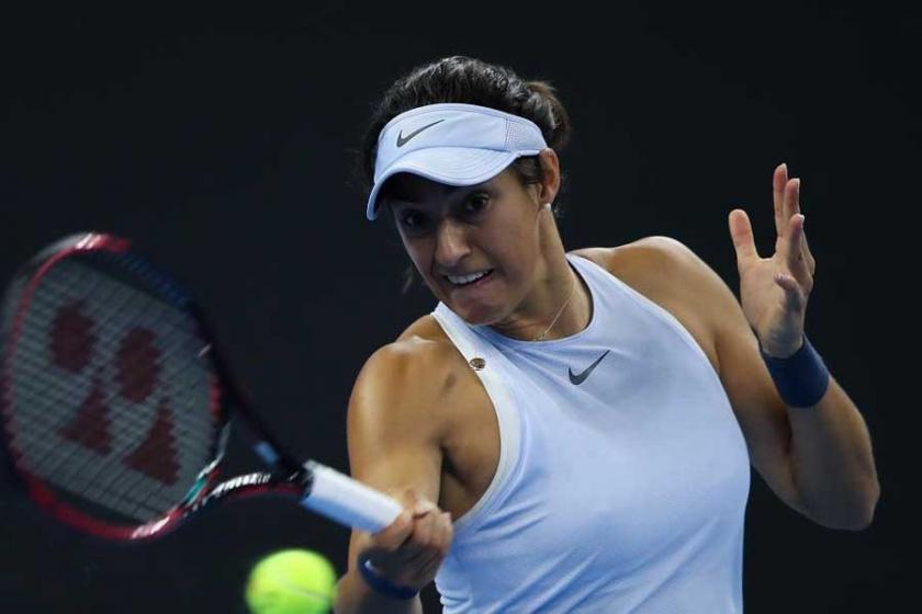 Fransız Caroline Garcia Çin Açık'ta yarı finalde