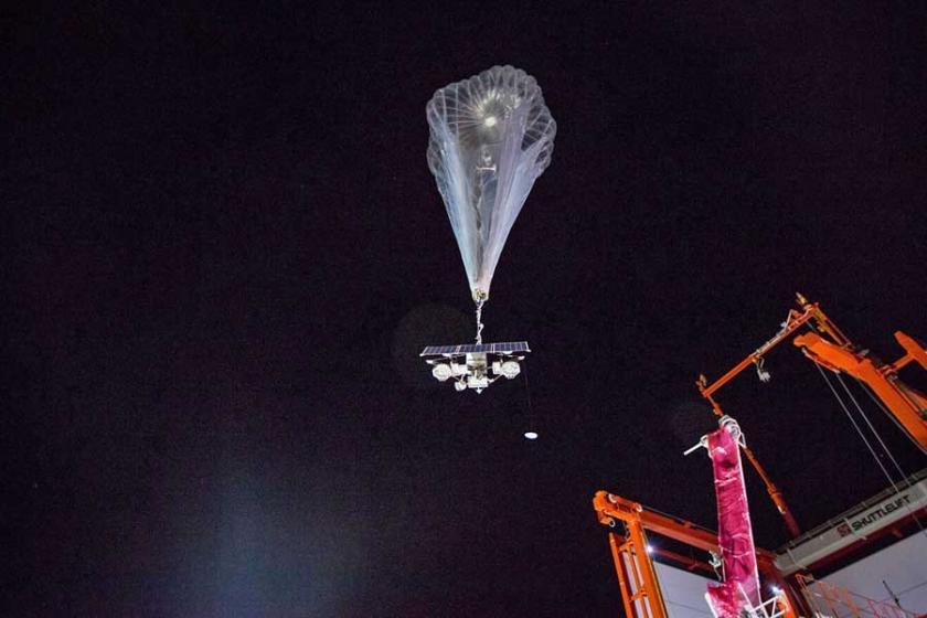 Google Porto Riko'ya uçan balondan hücresel internet verecek