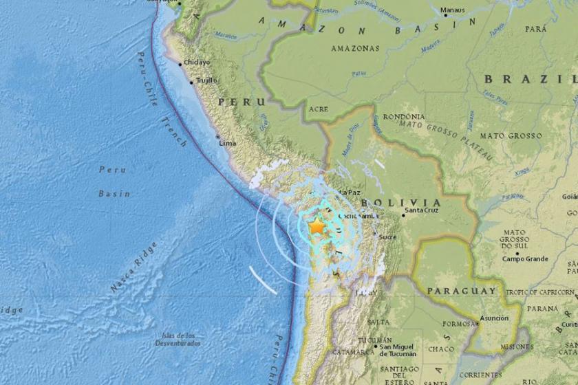Şili'de 6.3 büyüklüğünde deprem
