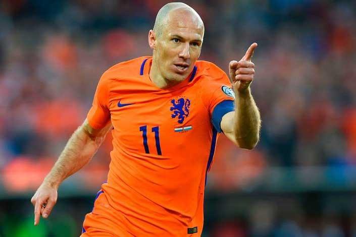 Arjen Robben milli takımı bıraktı